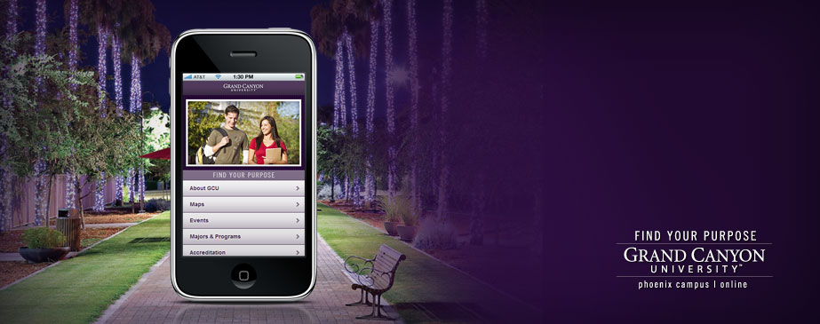 Grand Canyon University Mobile Website