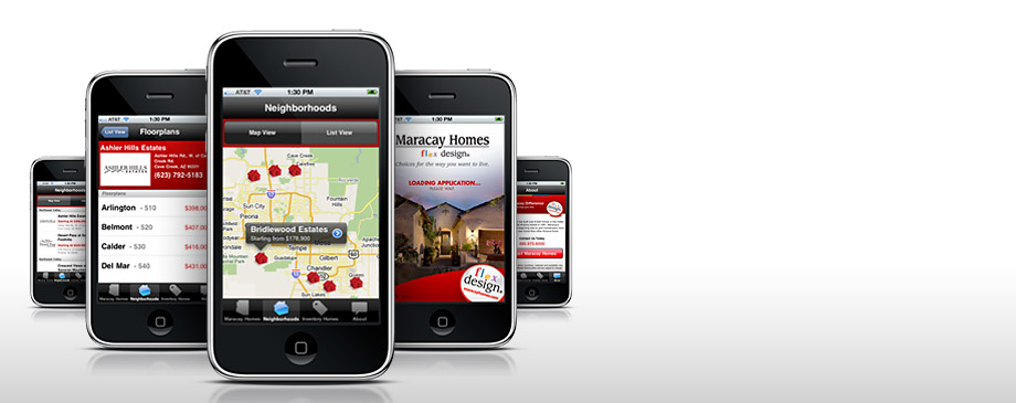 Maracay Homes iPhone Application