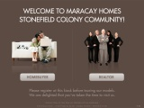 Maracay Homes: Registration Kiosk