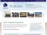 Vision Community Management: Corporate Website