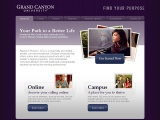 Grand Canyon University: GCU Purpose Microsite